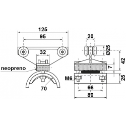Carro portacables K-275/KU