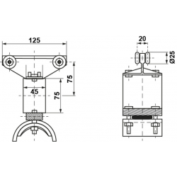 Carro de arrastre M-275/KU