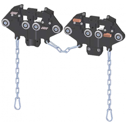 Carro doble colector-lmpieza con unión
