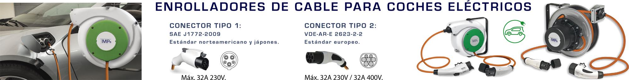 Enrolladores de cable